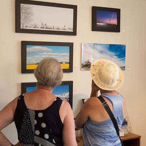 Gallery 148, Elbow, Saskatchewan. (Darrell Noakes)