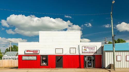 Central Butte, Saskatchewan, Canada Day evening. (Darrell Noakes)