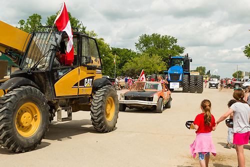 Canada Day Parade, Elbow, SK (Darrell Noakes)