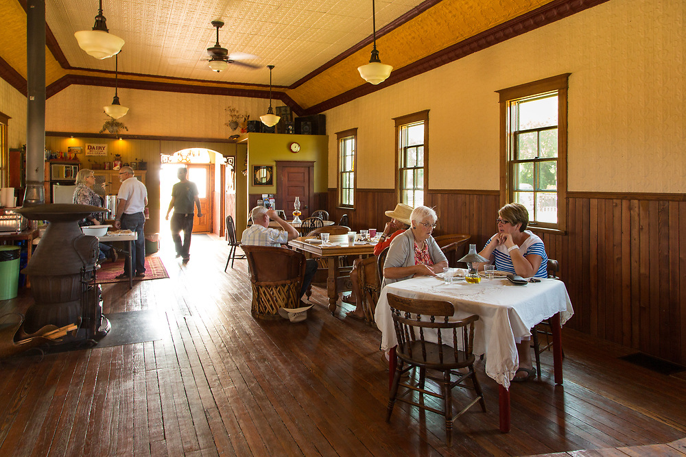 Cowboy brunch at the Lodge, Ghostown Blues Bed & Breakfast. (Darrell Noakes)