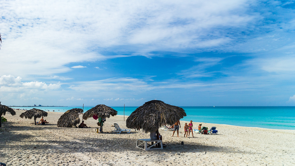Beach on the Atlantic Ocean in Varadero, Cuba. (Darrell Noakes)