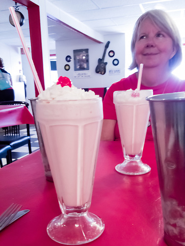 Debby-Lee's Diner in the Central Butte Hotel. (Darrell Noakes)